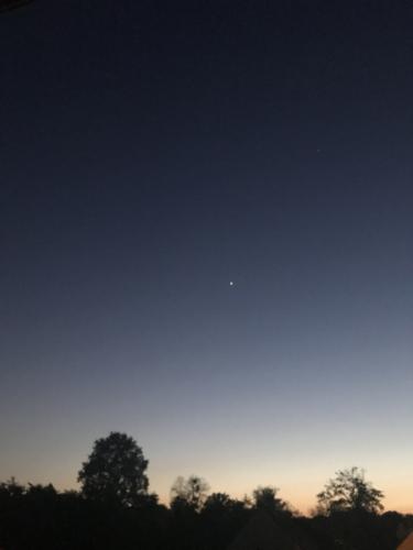 Christian.G-Vénus bien seule, pas de traces d'avions-Chantilly-23.04.2020